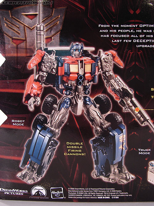 Transformers Revenge of the Fallen Optimus Prime (Image #7 of 118)