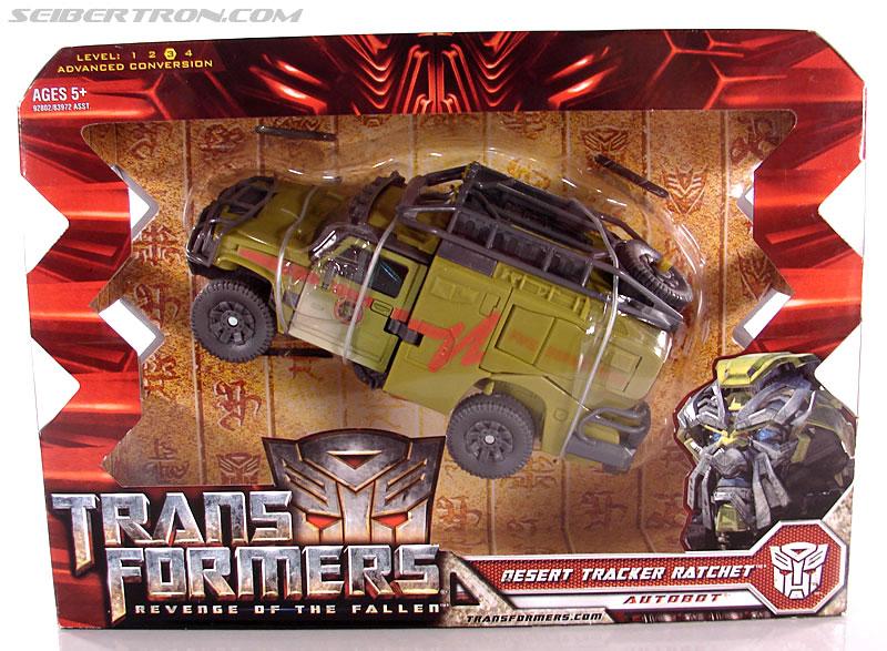 Transformers Revenge of the Fallen Desert Tracker Ratchet ...
