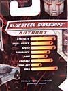 Transformers Revenge of the Fallen Bluesteel Sideswipe - Image #6 of 72