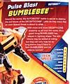 Transformers Revenge of the Fallen Pulse Blast Bumblebee - Image #9 of 83