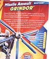 Transformers Revenge of the Fallen Missile Assault Grindor - Image #9 of 92