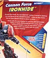 Transformers Revenge of the Fallen Cannon Force Ironhide - Image #8 of 81