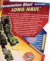 Transformers Revenge of the Fallen Devastation Blast Long Haul - Image #8 of 85