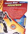 Transformers Revenge of the Fallen Cannon Blast Megatron - Image #8 of 79