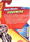Transformers Revenge of the Fallen Night Blades Sideswipe - Image #8 of 96