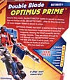 Transformers Revenge of the Fallen Double Blade Optimus Prime - Image #7 of 94