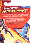 Transformers Revenge of the Fallen Power Armor Optimus Prime - Image #9 of 88