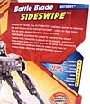 Transformers Revenge of the Fallen Battle Blade Sideswipe - Image #7 of 74