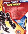 Transformers Revenge of the Fallen Magna Missile Sideways - Image #7 of 75