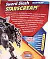 Transformers Revenge of the Fallen Sword Slash Starscream - Image #8 of 100
