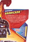 Transformers Revenge of the Fallen Barricade - Image #6 of 76