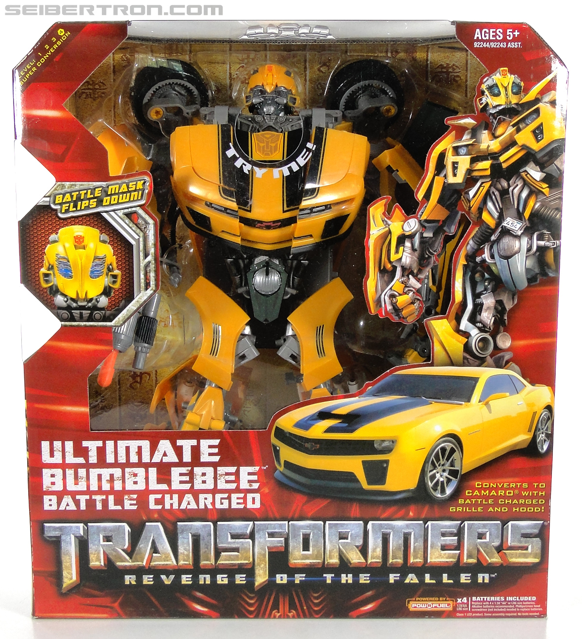 Transformers Revenge of the Fallen Ultimate Bumblebee Battle Charged (Image #1 of 149)