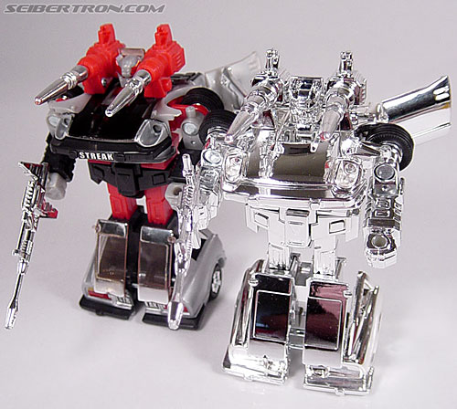 "Transformers e-Hobby Exclusives Silver Bluestreak (""Campaign Car"" version) (Image #42 of 48)"