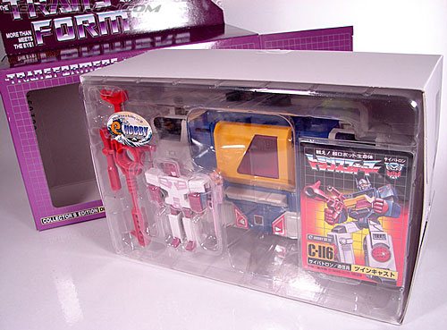 Transformers e-Hobby Exclusives Twincast (Reissue) (Image #19 of 101)