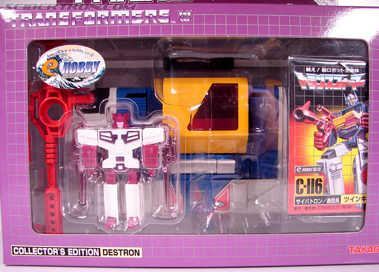 Transformers e-Hobby Exclusives Twincast (Reissue) (Image #2 of 101)