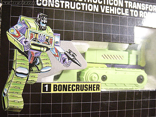 Transformers G1 1985 Bonecrusher (Image #1 of 36)
