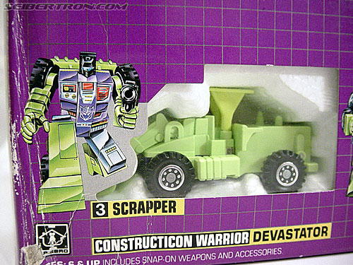 Transformers G1 1985 Devastator (Devastar) (Image #7 of 78)