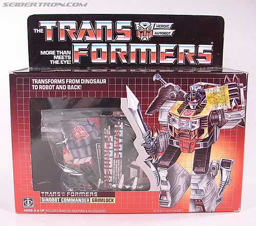 Transformers G1 1985 Grimlock (Image #1 of 168)