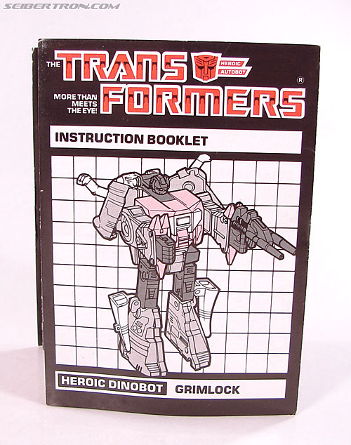 Transformers G1 1985 Grimlock (Image #26 of 168)