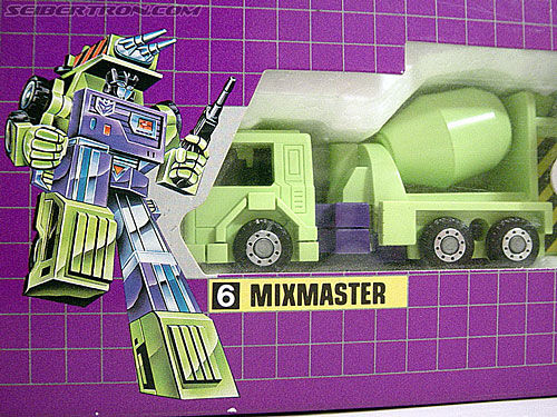 Transformers G1 1985 Mixmaster (Image #1 of 38)