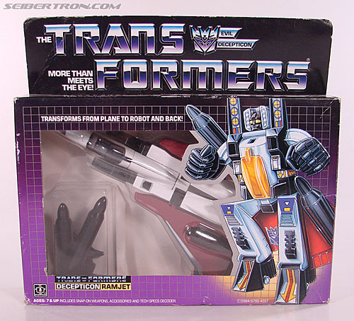 Transformers G1 1985 Ramjet (Image #1 of 168)