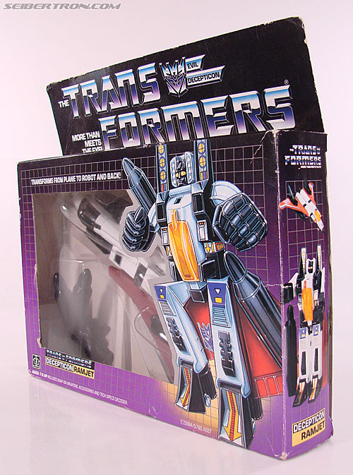 Transformers G1 1985 Ramjet (Image #14 of 168)