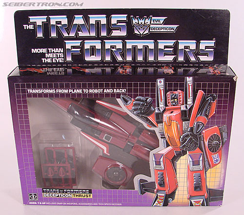 Transformers G1 1985 Thrust (Image #1 of 166)