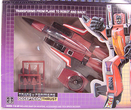 Transformers G1 1985 Thrust (Image #4 of 166)
