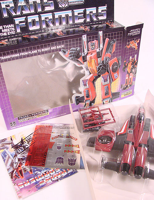 Transformers G1 1985 Thrust (Image #22 of 166)