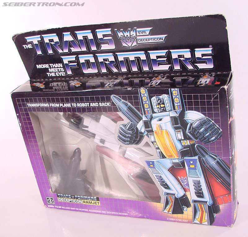 Transformers G1 1985 Ramjet (Image #16 of 168)