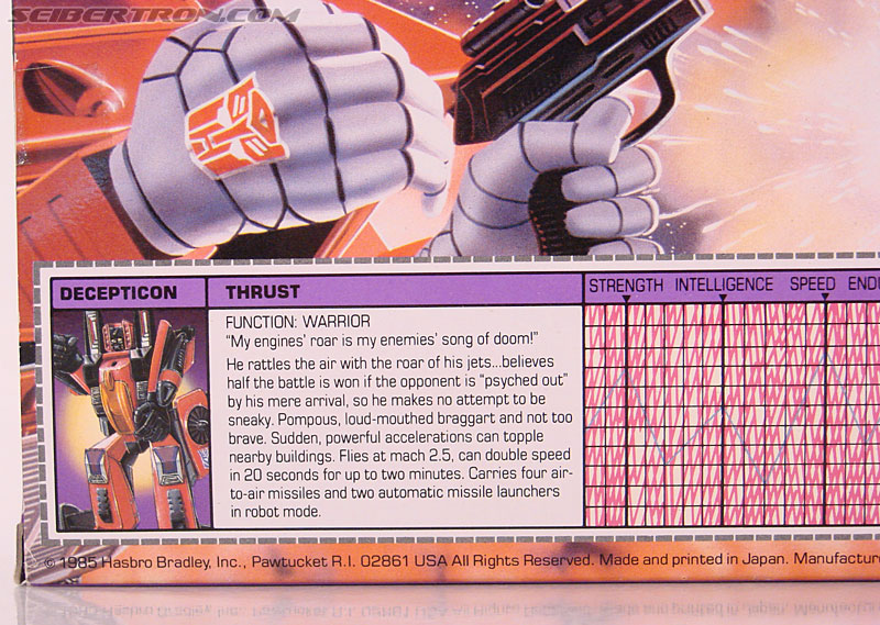 Transformers G1 1985 Thrust (Image #10 of 166)