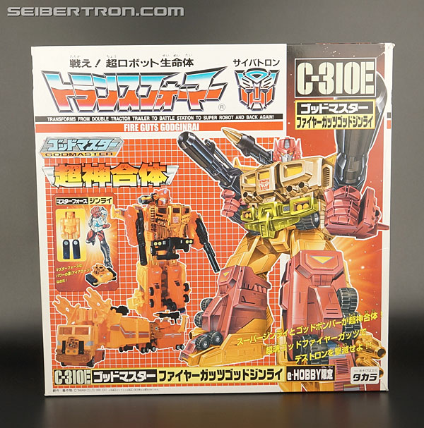 Transformers News: New Galleries: C-307X Nucleon Quest Super Convoy and C-310E Fire Guts God Ginrai