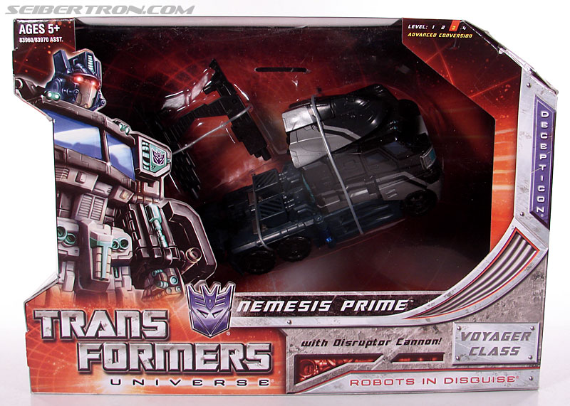 Transformers Universe - Classics 2.0 Nemesis Prime (Black Convoy) (Image #1 of 119)