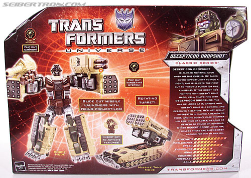 Transformers Universe - Classics 2.0 Dropshot (Image #8 of 123)