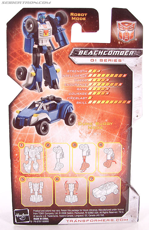 Transformers Universe - Classics 2.0 Beachcomber (Image #5 of 65)