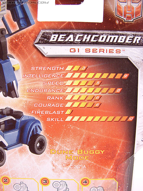 Transformers Universe - Classics 2.0 Beachcomber (Image #6 of 65)