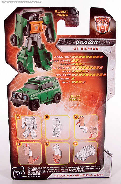 Transformers Universe - Classics 2.0 Brawn (Gong) (Image #5 of 66)