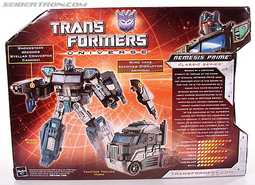 Transformers Universe - Classics 2.0 Nemesis Prime (Black Convoy) (Image #9 of 119)