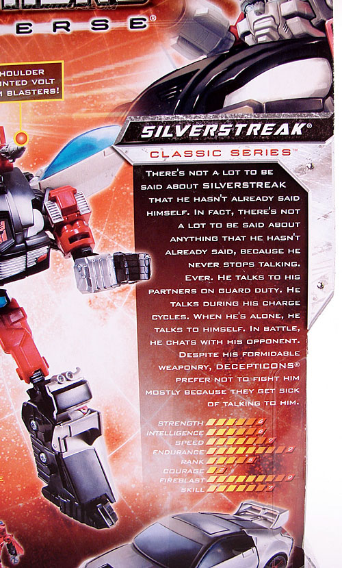 Transformers Universe - Classics 2.0 Silverstreak (Image #9 of 111)