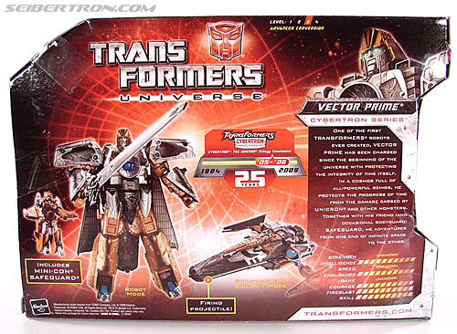 Transformers Universe - Classics 2.0 Vector Prime (Image #7 of 112)