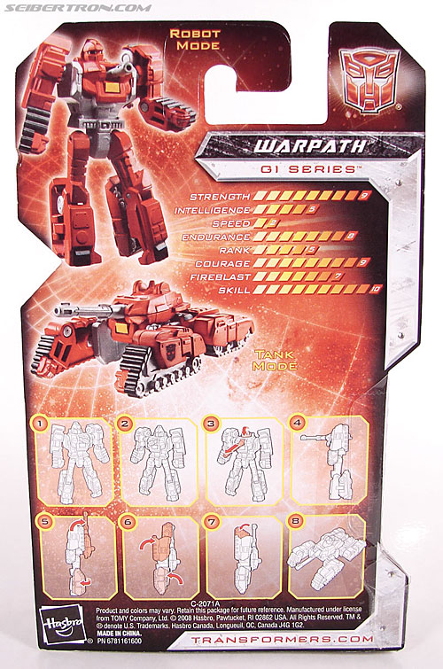 Transformers Universe - Classics 2.0 Warpath (Image #5 of 68)
