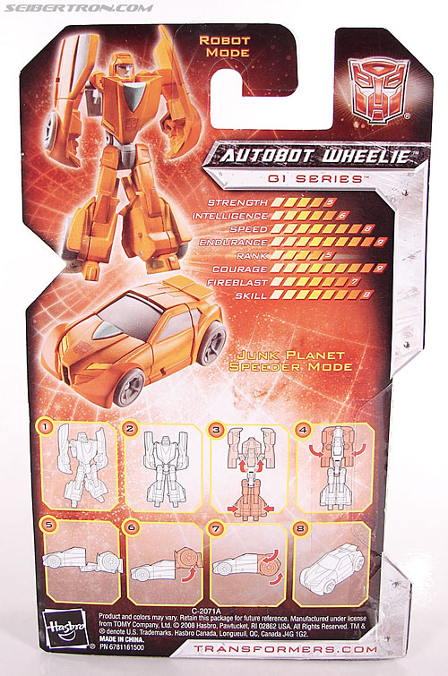 Transformers Universe - Classics 2.0 Wheelie (Image #5 of 75)