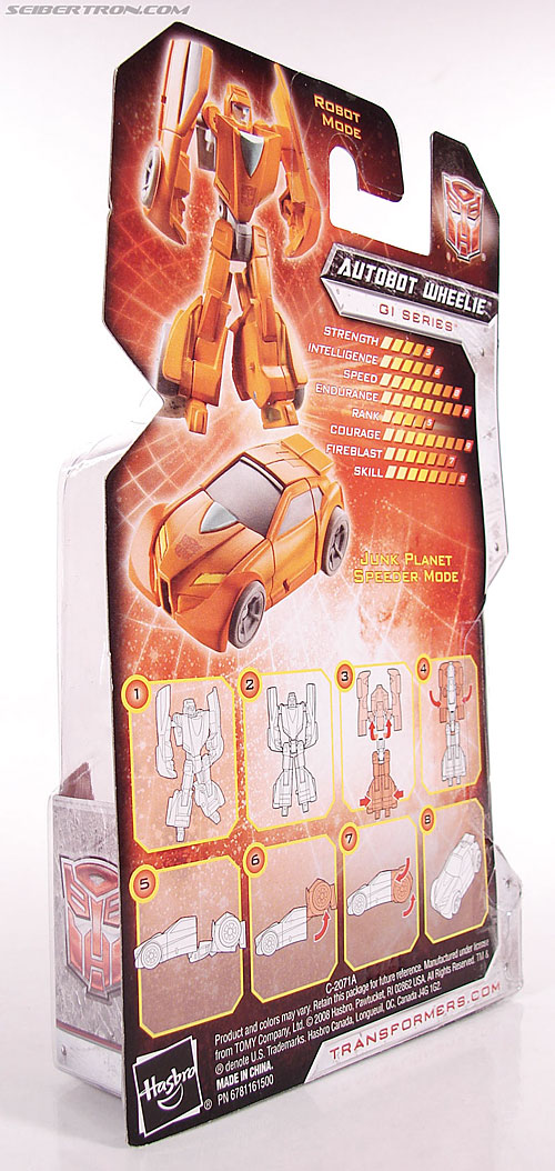 Transformers Universe - Classics 2.0 Wheelie (Image #8 of 75)
