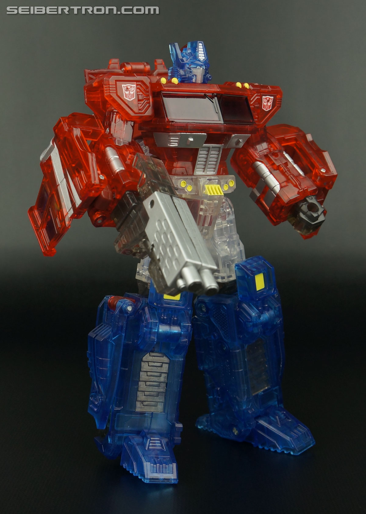 Transformers Henkei Crystal Optimus Prime (Convoy Clear Version (Crystal Convoy)) (Image #60 of 128)