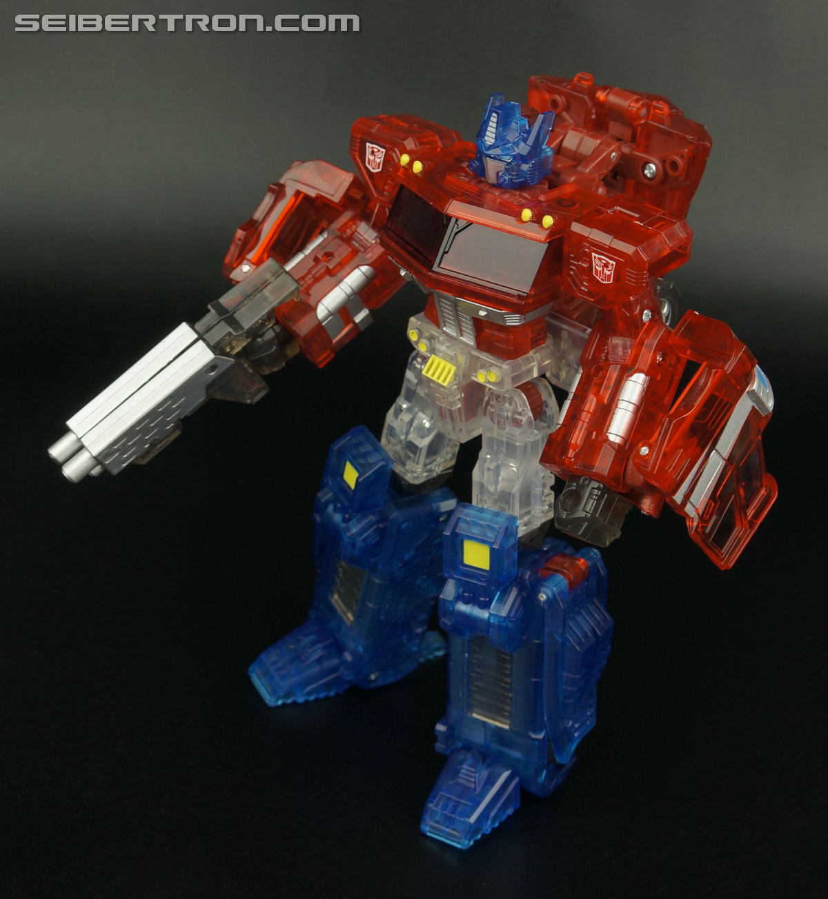 Transformers Henkei Crystal Optimus Prime (Convoy Clear Version (Crystal Convoy)) (Image #70 of 128)