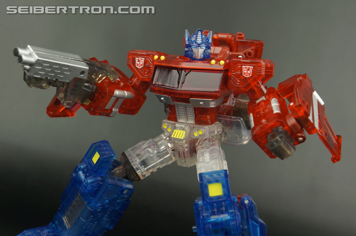Transformers Henkei Crystal Optimus Prime (Convoy Clear Version (Crystal Convoy)) (Image #78 of 128)