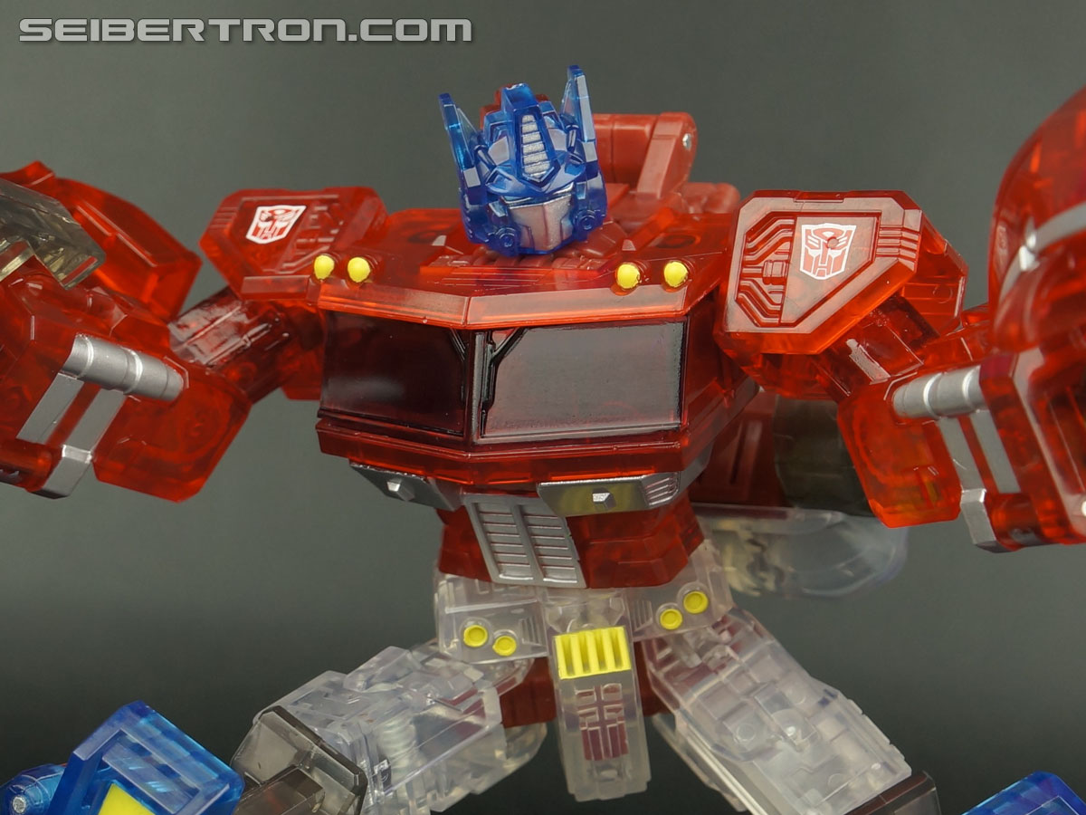 Transformers Henkei Crystal Optimus Prime (Convoy Clear Version (Crystal Convoy)) (Image #95 of 128)