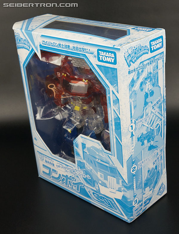 Transformers Henkei Crystal Optimus Prime (Convoy Clear Version (Crystal Convoy)) (Image #12 of 128)