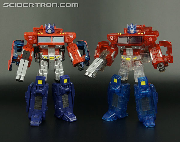 Transformers News: New Galleries: Henkei Crystal Convoy and United Ultra Magnus