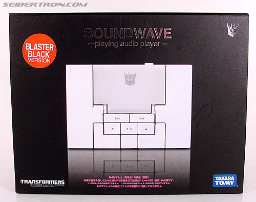 Transformers Music Label Soundwave (Blaster Black) (Image #1 of 88)